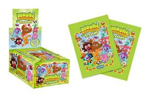 50 SEALED PACKS MOSHI MONSTERS STICKERS BY TOPPS 300 STICKERS IN TOTAL BARGAIN