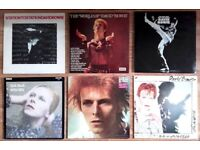 COLLECTABLE Vinyl For Sale including DAVID BOWIE Vinyl 1st Pressings