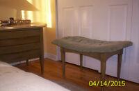 Mobilier de chambre 9 morceaux Vintage Américain de Martinville.
