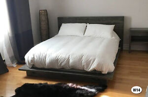 NEW RUSTIC SOLID WOOD BED FRAME + HEADBOARD BY ORDER Cornwall Ontario image 10