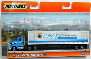 Matchbox 1/64 Super Rig H2O Diecast Car