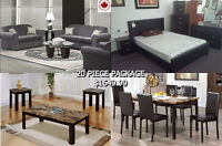 FURNISH YOUR WHOLE HOUSE for only $1,749.99