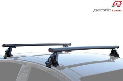 Kit barre portatutto portapacchi acciaio Toyota Corolla 5p dal 2002 al 2007