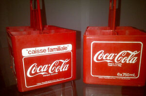 CAISSES DE COKE CARRYING CASSES (2) 1979