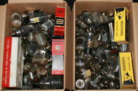 2 Boxes of Old Vacuum Radio / TV Tubes