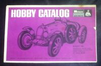 Lot of 3 old race car and model kit instruction manuals.1960's