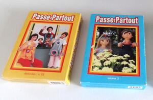 PASSE-PARTOUT, 2 COFFRETS DE 5 DVD, VOLUME 1 - 2