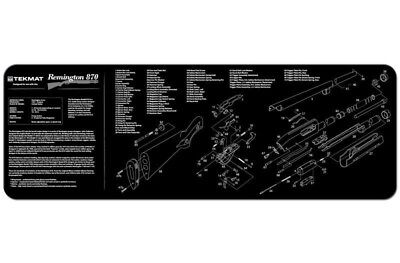 Gunsmith Cleaning Tool Work Bench Parts Diagram Remington 870 Shotgun Gun Mat