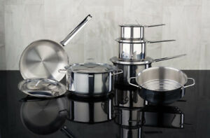 Cheap NEW Meyer pots and pans set