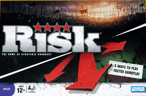 RISK BOARD GAME - MODERN EDITION EXCELLENT CONDITION