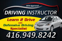 Driving Lessons for G2 and G Road Test / Driving Insterctor