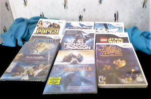 Wii Games and Movies brand new !