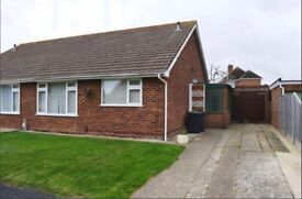 2 bedroom semi detached bungalow in Great Hayling location. NO ADMIN FEES