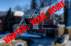 Kitchener Home Wanted for Qualified/Motivated Buyer