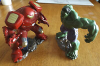Hulk and Iron Man Playmation firgures