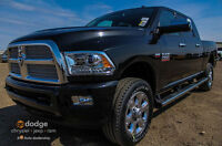 2015 RAM 2500 LONGHORN LIMITED GAS MEGA CAB ....ONLY THE BEST !!