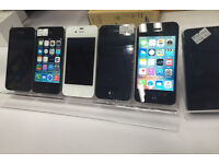 Apple iPhone 4S 8GB, 16GB, 32GB, unlocked, white and black, excellent condition