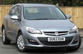 Vauxhall/Opel ASTRA 1.7 CDTi 16v 110ps Exclusive ecoFLEX 2013 DU62 reg 41k mi