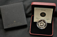 "2004 Canada Special Edition Proof "" Poppy "" Silver Dollar"