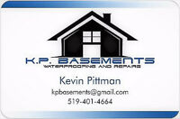 Wet Basement? KP Basement waterproofing