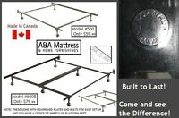 NEW METAL BED FRAMES Canadian Made BUILT TO LAST!