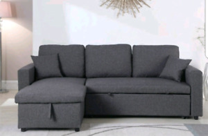 New grey sectional for sale