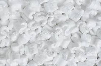 3.5 White Popcorn Anti Static Packing Peanuts Free Ship New White