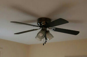 Black Ceiling Fan For Sale
