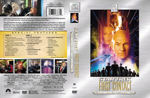 Star Trek-First Contact 2 dvd set-new and sealed