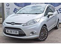 2009 FORD FIESTA 1.4 TITANIUM 3 DOOR HUGE SPEC LOW INSURANCE FINANCE ME TODAY HA