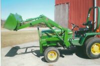 855 John Deere with loader