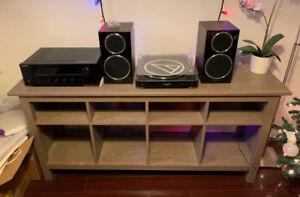 Ikea TV or Media Stand / Sofa Side Table (Hemnes)