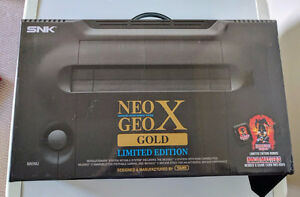 Neo Geo X Gold game console