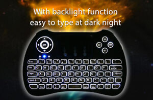 AIR MOUSE KEYBOARD BACKLIGHT FOR ANDROID TV BRAND NEW