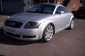 Audi TT Coupe 1.8 ( 180bhp ) T quattro 2 LadyOwners with Full Black Leather FSH
