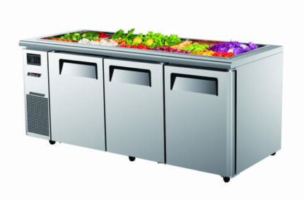 Turbo Air KSR18-3 Three Door Salad Prep Vench Fridge Underwood Logan Area Preview
