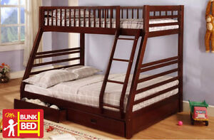 BUNKBED SPECIAL OFFER - TWIN/DOUBLE STYLING