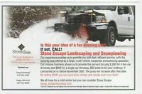 Stone Escape Landscaping and Snow plowing