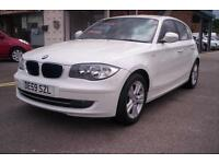 BMW 116 2.0 i SE 5 door in White 77000 miles