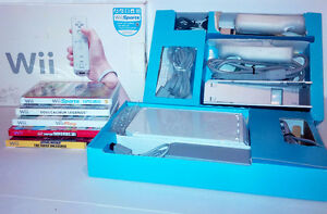 Great Christmas Gift! Wii - 3+ controllers & 5 Games
