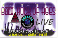 Saturday, July 21.  Party ROCK Night