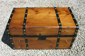 Antique Pine Blanket Boxes, Storage Chests, or Coffee Tables