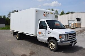 FORD E350 YR 2009 CUBE VAN, ONLY 156,477 KM'S * LONDON AUCTION
