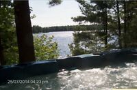 Waterfront  cottage on the Magnetawan river