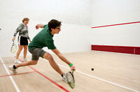 Looking for a Squash Partner to play with over on weekends