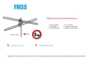FM Antenna for stereo receiver / radio