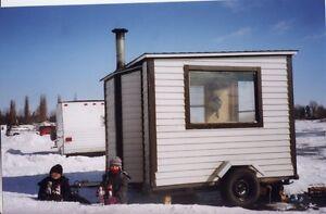 cabane a peche sur glace