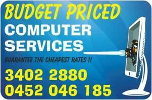 BUDGET PRICED COMPUTER SERVICES