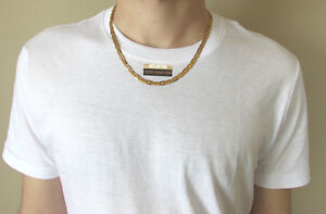 NEW 9K Gold Filled Men's Chain/Chaine
