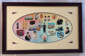 Professional Framed Print Famous People Places + Events L. Furs